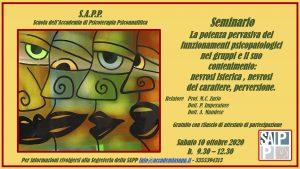 SAMINARIO SAPP 10 OTTOBRE