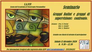 SAMINARIO SAPP 12 DICEMBRE